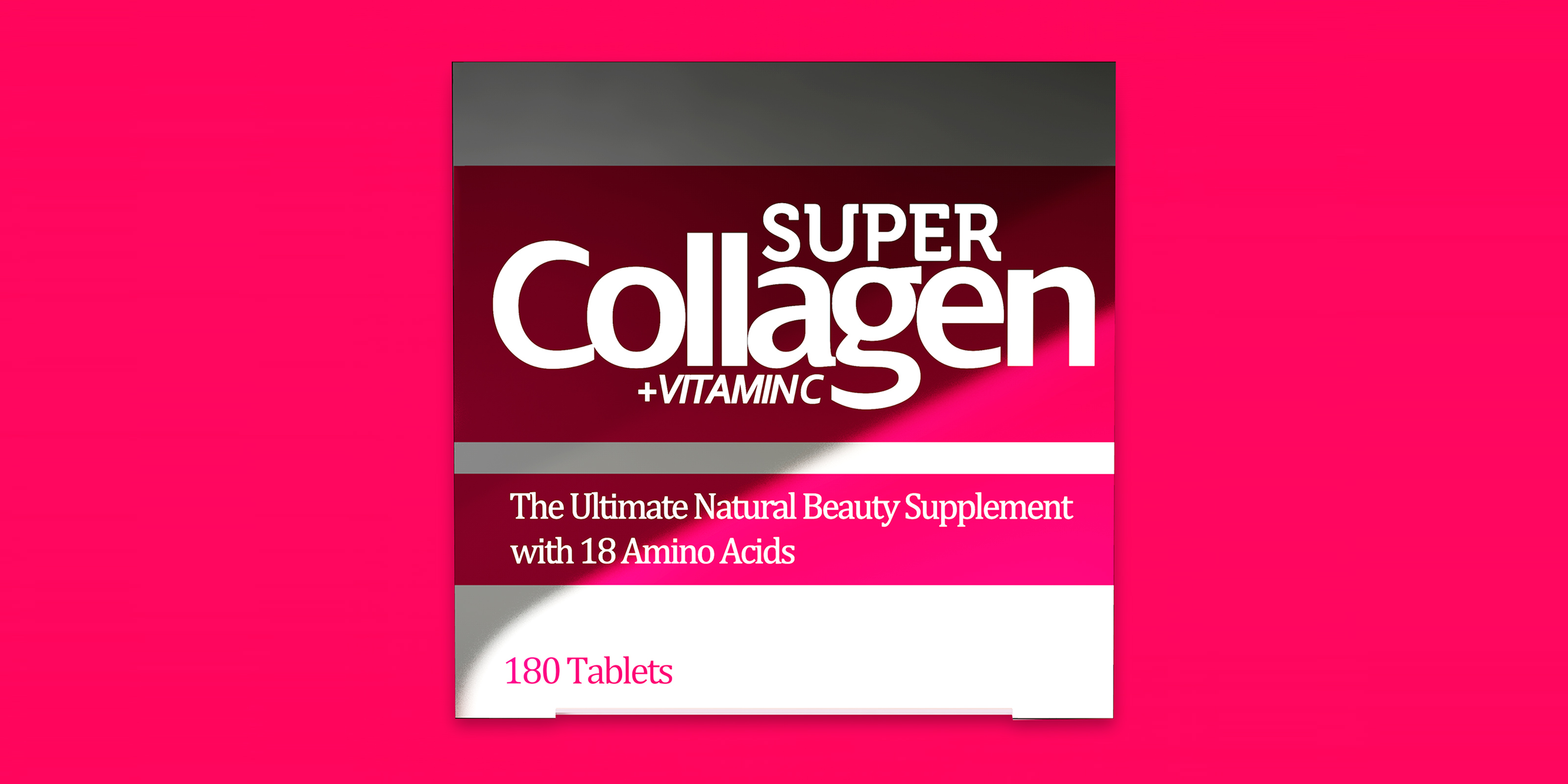 Advanced Health Solutions (AHS) Super Collagen Carton