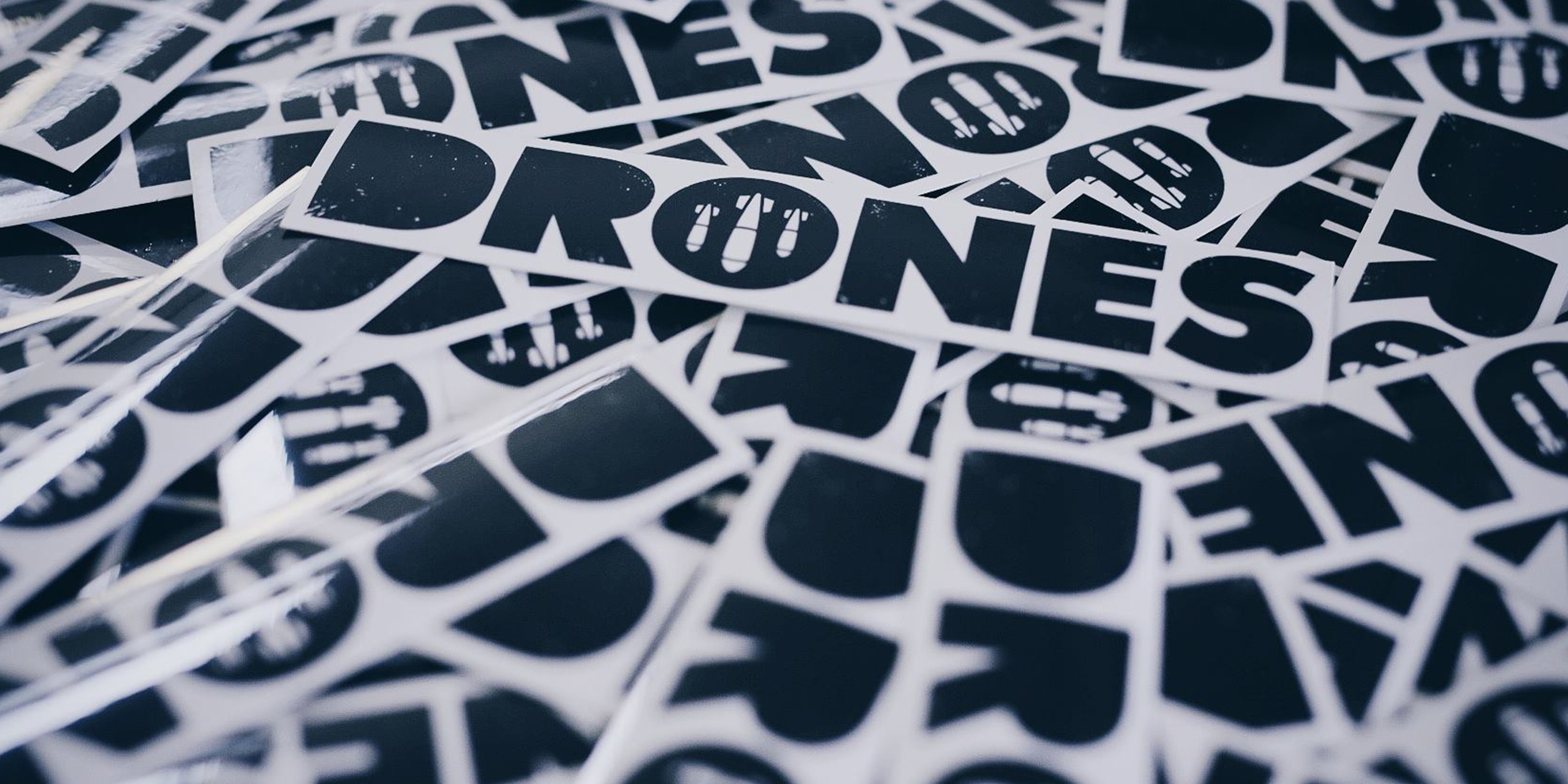 Drones Stickers