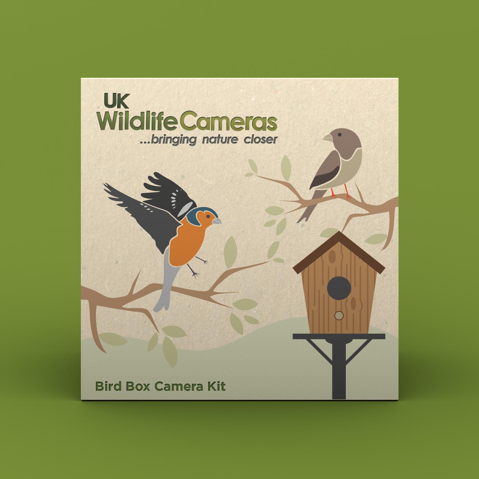 UK Wildlife Cameras Packaging