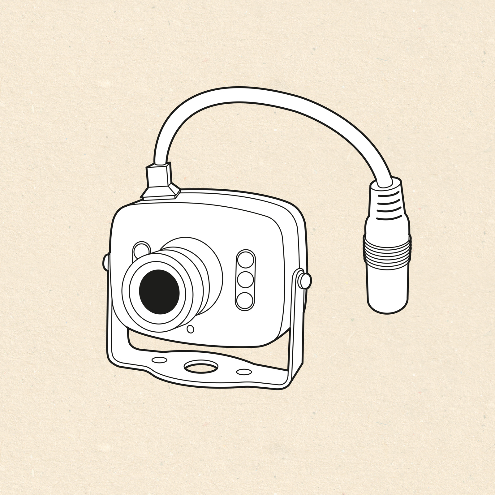 UK Wildlife Cameras Product Illustration