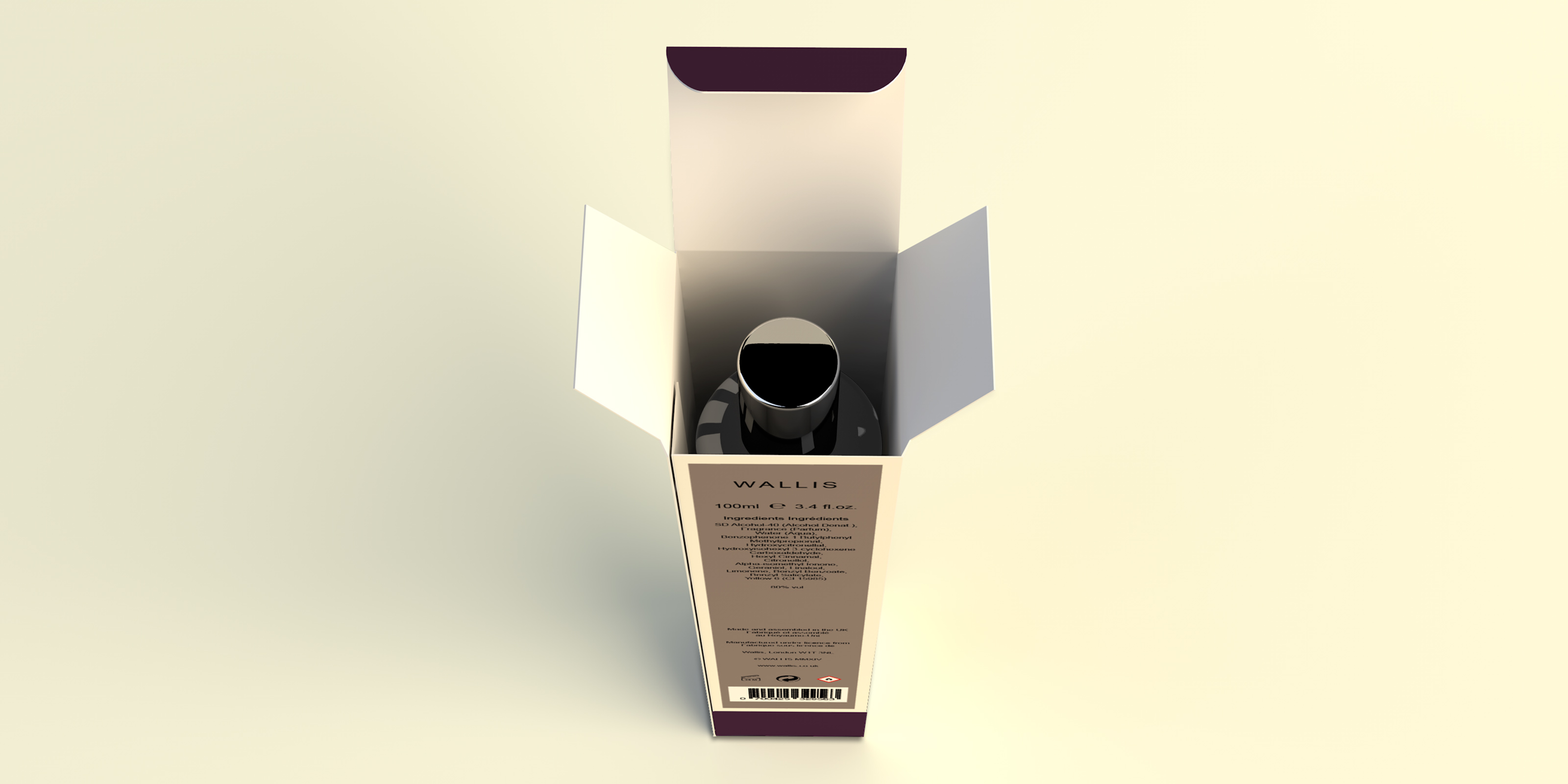 Wallis Noir Room Spray Carton
